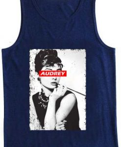 audrey hepburn Adult tank top men and women