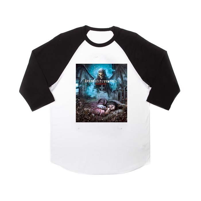 avenged sevenfold cover raglan unisex tee shirt