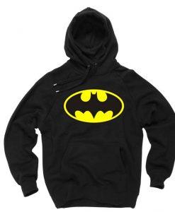 batman logo black color Hoodies