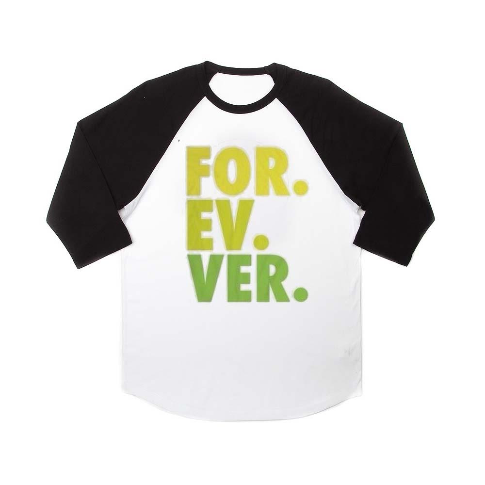forever raglan unisex tee shirt