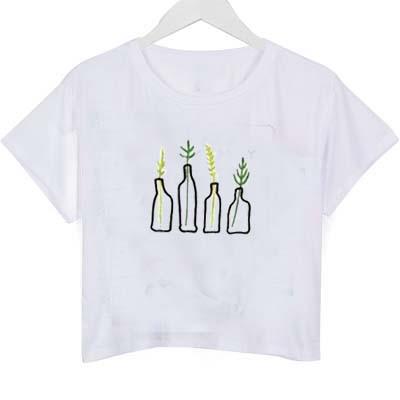0fd69cb0849 wu tang clan logo crop top graphic print tee for women