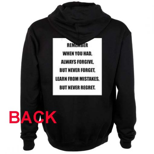 remember when you had black color Hoodies