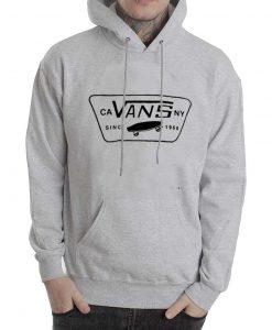 vans grey sweater