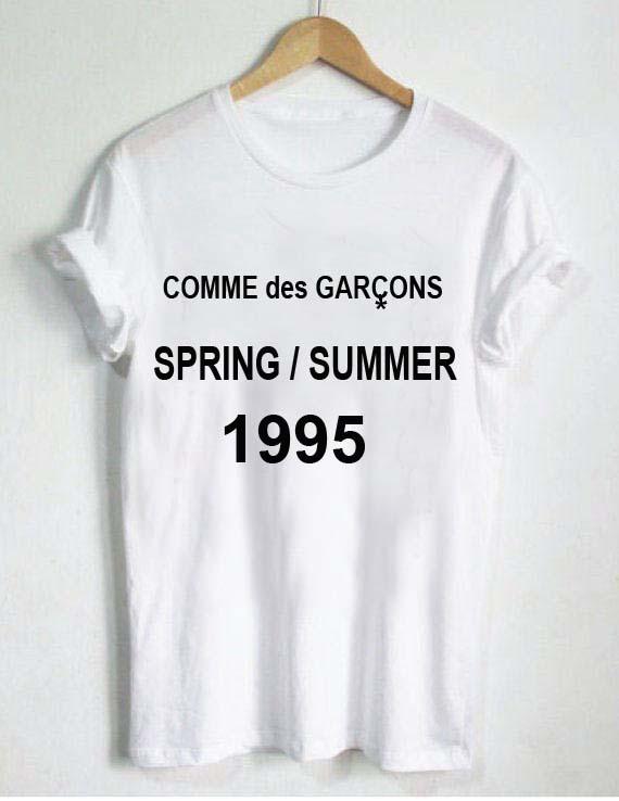 c8316810ca1f Commes des garcons 1995 T Shirt Size XS