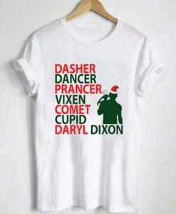 daryl dixon christmas T Shirt Size XS,S,M,L,XL,2XL,3XL