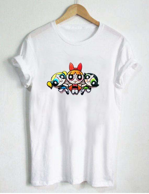 The Powerpuff Girls Action T Shirt Size Xs S M L Xl 2xl 3xl