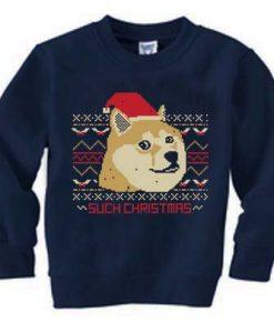 doge such christmas Unisex Sweatshirts