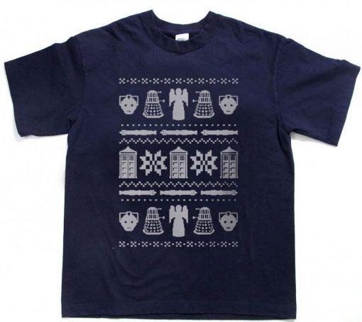 dr who christmas T Shirt Size XS,S,M,L,XL,2XL,3XL