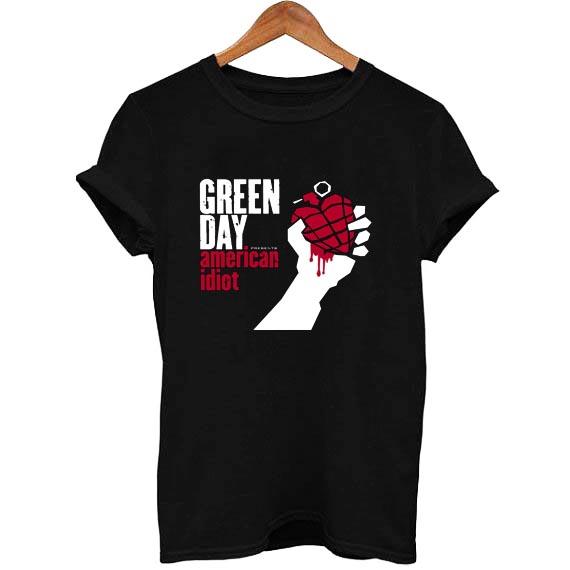 Green Day American Idiot Logo Shirt NEW M L XL 2XL 3XL