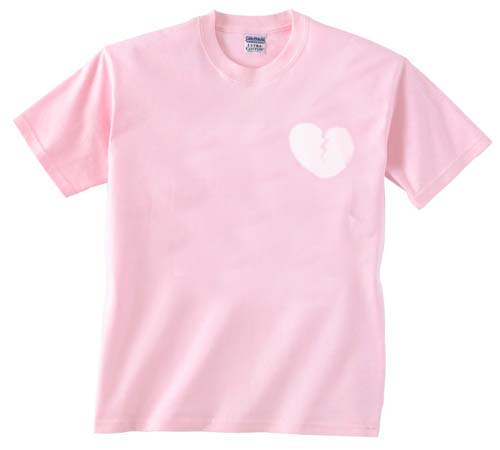 heart light pink T Shirt Size S,M,L,XL,2XL,3XL