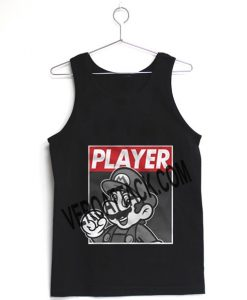 mario player Adult tank top men and women