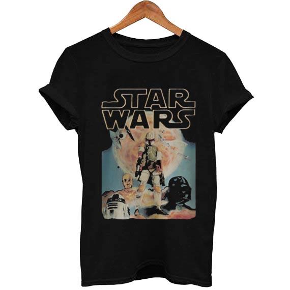 star wars vintage T Shirt Size XS,S,M,L,XL,2XL,3XL