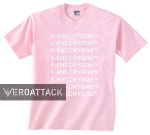 0d09228da 1-800-crybaby light pink T Shirt Size S
