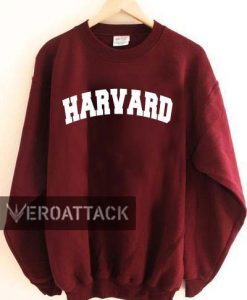 HARVARD logo font Unisex Sweatshirts