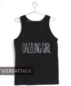 dazzling girl Adult tank top men and women