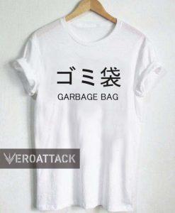 garbage bag T Shirt Size XS,S,M,L,XL,2XL,3XL