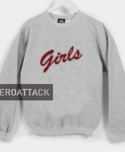 girls red letters Unisex Sweatshirts