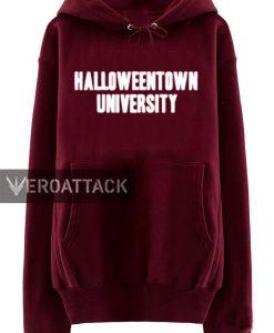 halloweentown university maroon color Hoodies