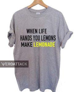 when life hands you lemons make lemonade T Shirt Size XS,S,M,L,XL,2XL,3XL