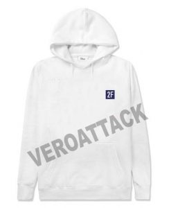 2F aesthentic white color Hoodies