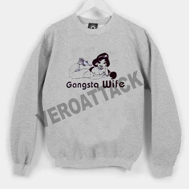 gangsta wife Unisex Sweatshirts