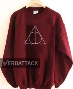 harry potter deathly logo Unisex Sweatshirts