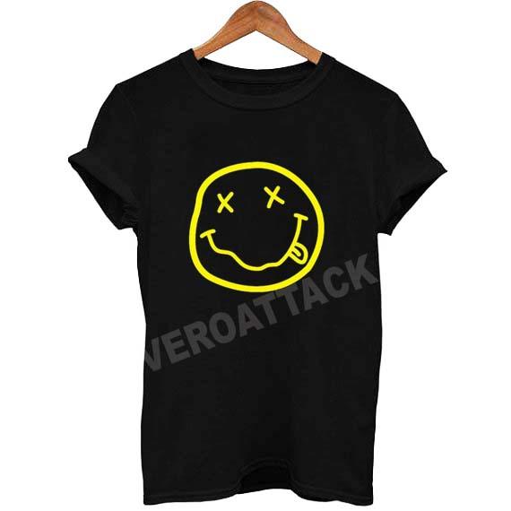 smile nirvana emoji T Shirt Size XS,S,M,L,XL,2XL,3XL