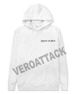 sporty and rich white color Hoodies