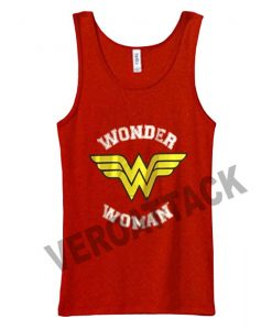wonder woman logo Adult tank top men and women
