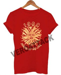 1969 summer of the sun T Shirt Size XS,S,M,L,XL,2XL,3XL