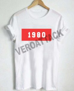1980 new T Shirt Size XS,S,M,L,XL,2XL,3XL