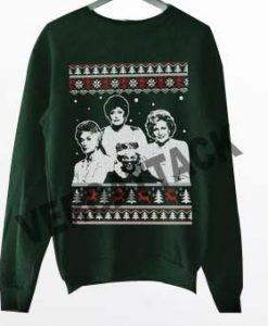 golden girls christmas deep forest Unisex Sweatshirts