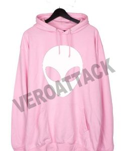alien light pink color Hoodie