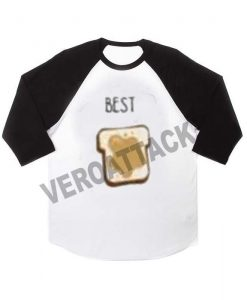 BFF best raglan unisex tee shirt for adult men and women