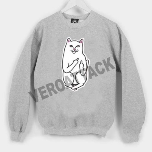 white cat Unisex Sweatshirts