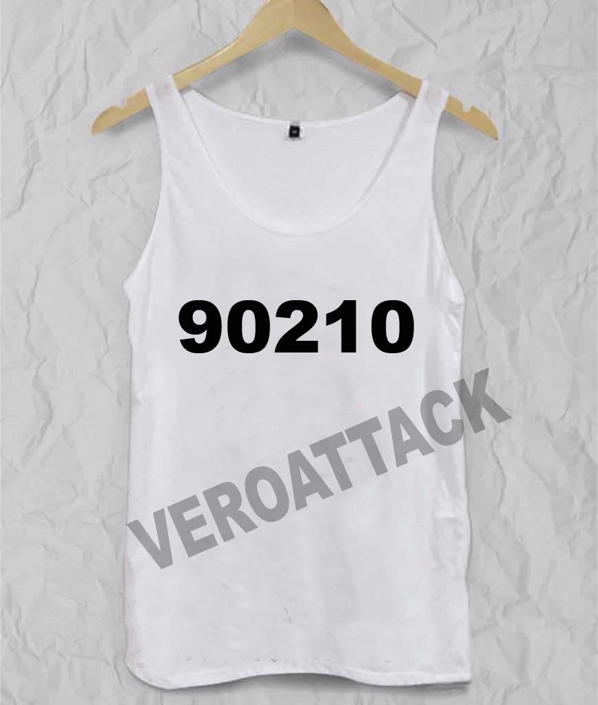 90210 Adult tank top men and women