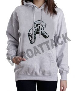 doggies puppies grey color hoodie
