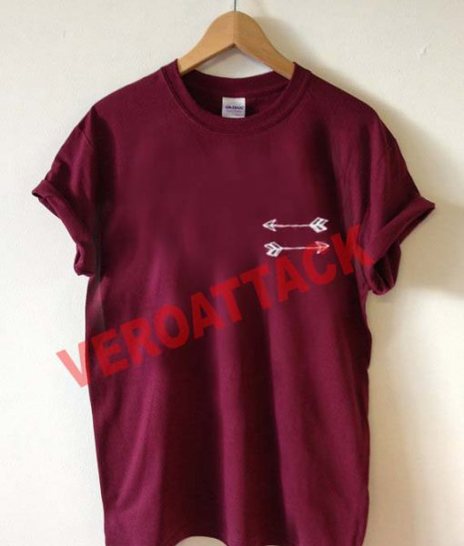 double arrow T Shirt Size XS,S,M,L,XL,2XL,3XL