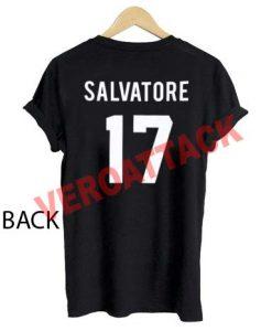 salvatore 17 T Shirt Size XS,S,M,L,XL,2XL,3XL