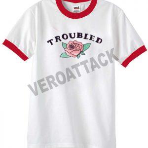 fried love unisex ringer tshirt