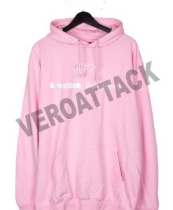 HFP kanye attitude drake feelings light pink color Hoodie