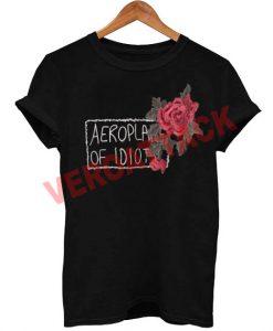 aeroplane of idiot T Shirt Size XS,S,M,L,XL,2XL,3XL
