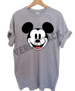 mickey mouse face T Shirt Size XS,S,M,L,XL,2XL,3XL