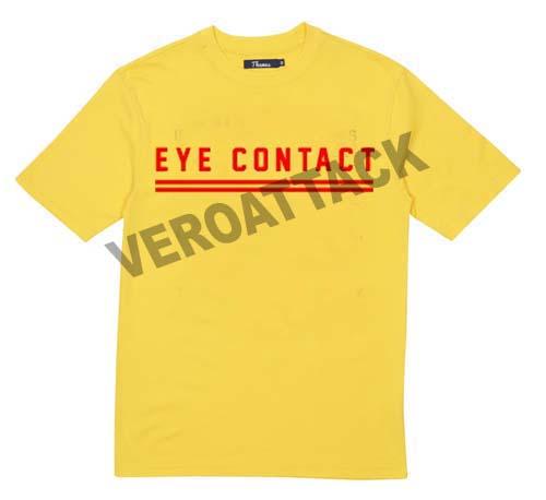 eye contact T Shirt Size XS,S,M,L,XL,2XL,3XL
