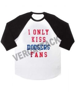 i only dodgers fans raglan unisex tee shirt for adult men and women