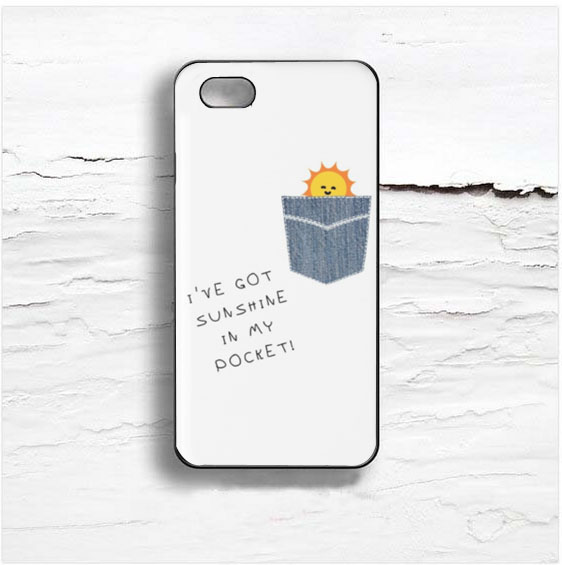 I've Got Sunshine In My Pocket Design Cases IPhone, IPod