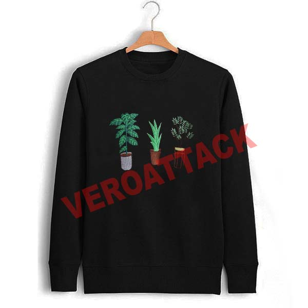 plant collage Unisex Sweatshirts
