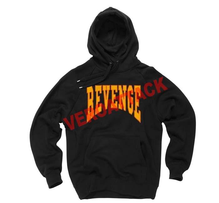 Revenge Black Color Hoodie
