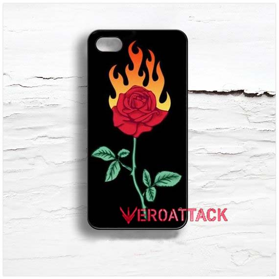 best website 993d9 56186 Burning Love Rose Design Cases iPhone, iPod, Samsung Galaxy