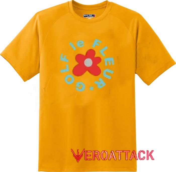 Golf Le Fleur Gold Yellow Color T Shirt Size S,M,L,XL,2XL,3XL
